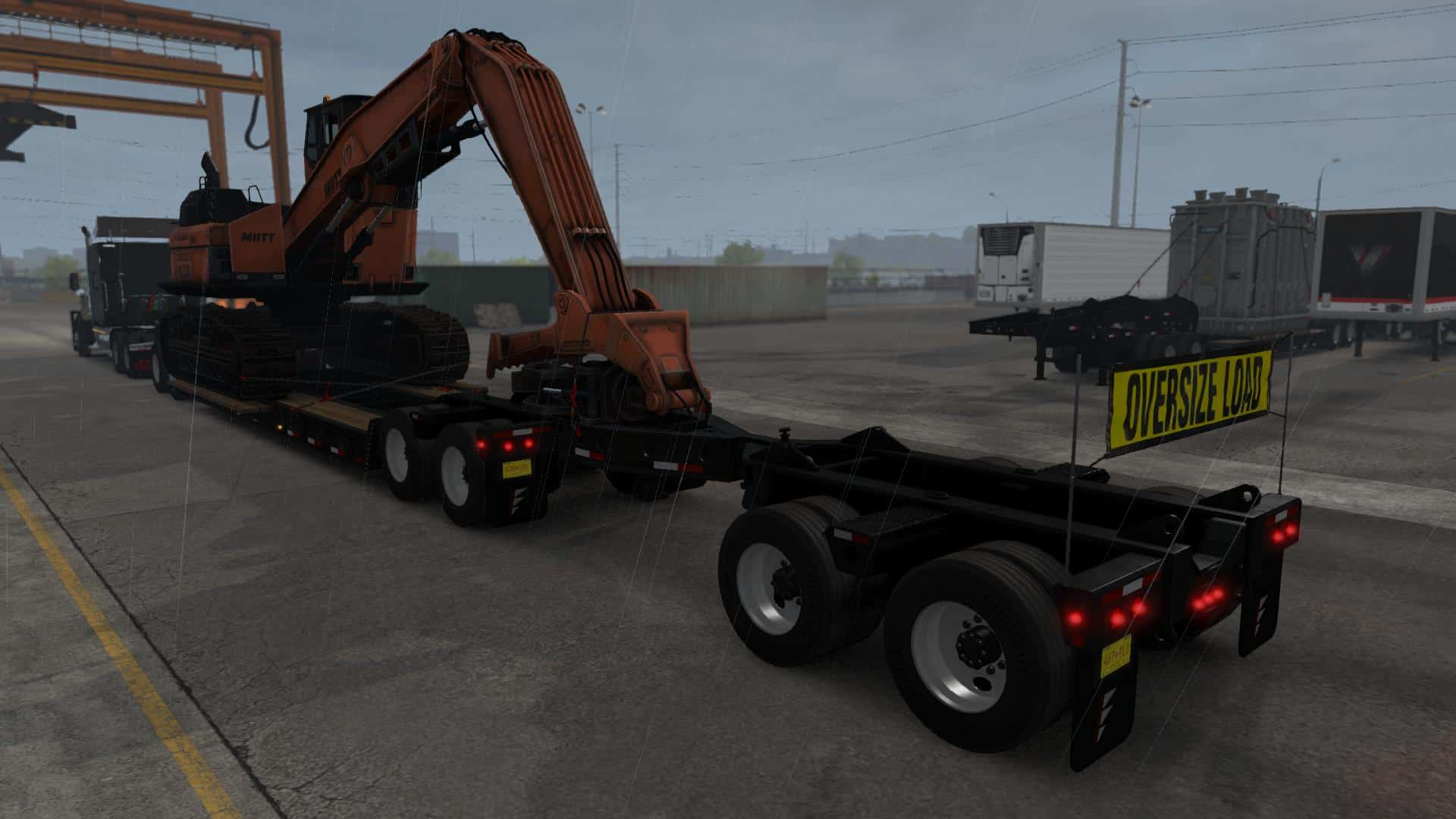 Forest Machinery DLC OWNABLE MP-SP 1 35 x for ATS Mod download