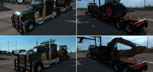 Trailers - American Truck Simulator Mods | ATS Trailers mods download